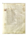 Folio 12R from Venetus A Giclee Print