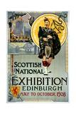 Scottish National Exhibition Poster Gicléedruk