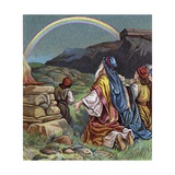 Noah Giving Thanks for the End of the Great Flood Giclee Print