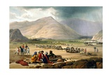 Scene from First Anglo-Afghan War Giclee Print