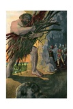 The Cyclops Polyphemus from Homer's Odyssey Giclee Print