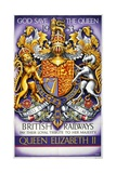 God Save the Queen Poster Giclee Print