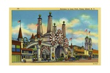 Entrance to Luna Park Giclee Print