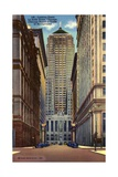 Chicago Board of Trade on La Salle Street Giclee Print
