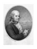 Head and Shoulders Portrait of Captain William Bligh Giclee Print