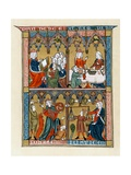 Prudence, Temperance, Fortitude and Justice Giclee Print