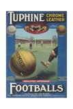 Tuphine Footballs Advertisement Giclee Print