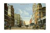 Flinders Street, Melbourne, Victoria Giclee Print