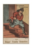 The Fireman: the Midnight Alarm Giclee Print