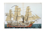 Transitional Ship Giclee Print