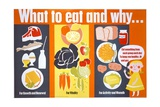 What to Eat and Why Poster Giclee Print