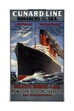 Cunard Line Monarchs of the Sea Poster Giclee Print