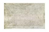 Magna Carta Giclee Print
