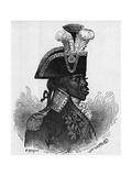 Portrait of Francois Dominique Toussaint Louverture Giclee Print