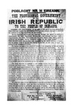 Proclamation of the Irish Republic Giclee Print