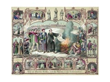 Print of the Life of Martin Luther and the Heroes of the Reformation Giclée-tryk