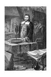 Evangelista Torricelli Invents Barometer Giclee Print