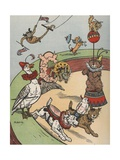 Circus Animals Giclee Print