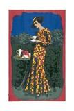 Drinking Empire Grown Tea Poster Giclee Print