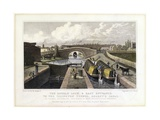 The Double Lock and East Entrance to the Islington Tunnel Giclee Print