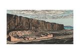 Pueblo Bonito in New Mexico Giclee Print