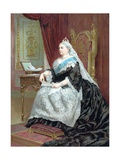 Queen Victoria at the Time of Her Golden Jubilee in 1887 Giclee Print