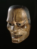 Early Edo Period Noh Mask Photographic Print