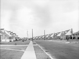 Houses in Levittown, Long Island Photographic Print