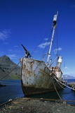 Abandoned Whaling Ship Photographic Print by Paul Souders