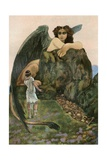 Oedipus and the Sphinx Giclee Print