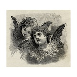 Victorian Cherubs Giclee Print