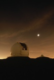 Eclipse over Keck Observatory Photographic Print by Roger Ressmeyer