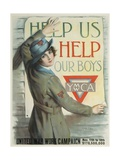Help Us Help Our Boys Ymca Poster Giclee Print