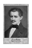 Composer Johann Strauss, the Elder Giclee Print