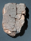 Babylonian Map of the World Photographic Print