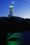 Peggy's Cove Lighthouse at Twilight Photographic Print by Paul Souders