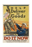 Help Deliver the Goods Poster Giclee Print