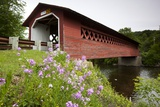 Henry Covered Bridge Photographic Print by Paul Souders