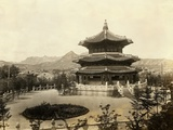 Temple of Heaven in Seoul Photographic Print