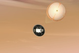 Mars Science Laboratory Parachute Photographic Print