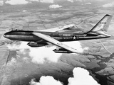 B-47 Boeing Stratojet in Flight Photographic Print