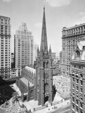 Trinity Church on Wall Street Photographic Print