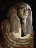 Mummiform Coffin of Hor Photographic Print