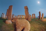 Stonehenge by Moonlight Photographic Print