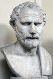 Bust Sculpture of Demosthenes Photographic Print
