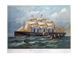 Great Eastern on the Ocean Giclee Print