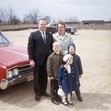 American Family Portrait, Ca. 1966 Fotografisk trykk