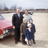 American Family Portrait, Ca. 1966 Photographic Print