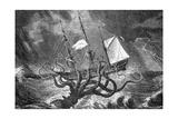 Seamonsters, the Kraken Giclee Print