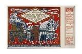 Queen Victoria's Diamond Jubilee Ticket Giclee Print